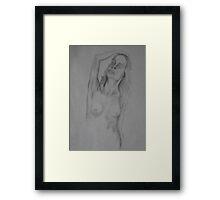 For Put Her on a Pedestal Framed Print