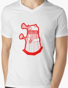 Red is dead! EXTERMINATE!!! Mens V-Neck T-Shirt