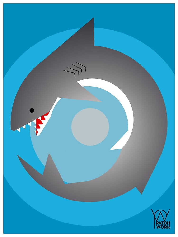Radial Shark by Patrick Sluiter