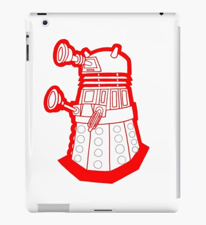 Red is dead! EXTERMINATE!!! iPad Case/Skin