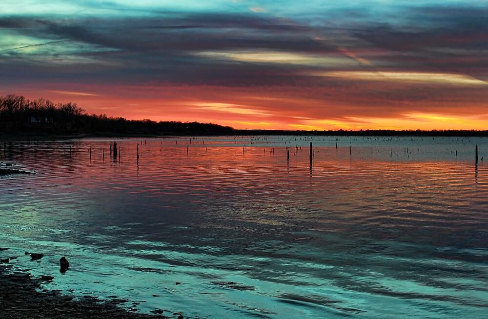 Fine Sunset Colors by Carolyn  Fletcher