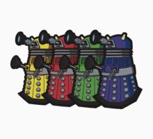 Beware the Daleks! Kids Tee