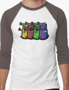 Beware the Daleks! Men's Baseball ¾ T-Shirt