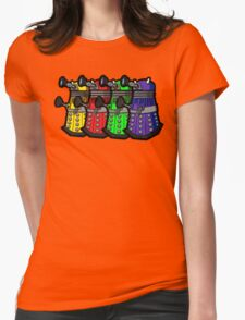 Beware the Daleks! Womens Fitted T-Shirt