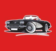 Chevrolet Corvette (58-62) Black Baby Tee