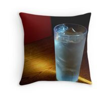 Just Water Throw Pillow