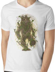 Treebear Mens V-Neck T-Shirt