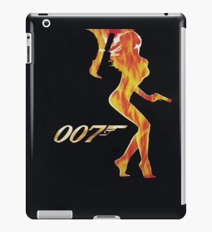 007 iPad Case/Skin