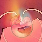 Pink Jewel Beetle by CatMorris