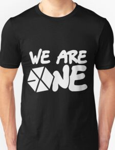 EXO - We Are One! (White Font) T-Shirt