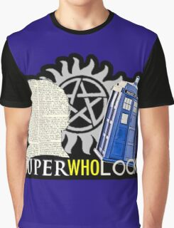 SuperWhoLock - Crossover MegaVerse Graphic T-Shirt