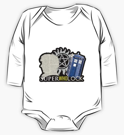 SuperWhoLock - Crossover MegaVerse One Piece - Long Sleeve
