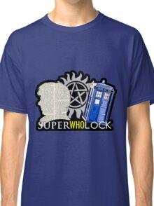 SuperWhoLock - Crossover MegaVerse Classic T-Shirt