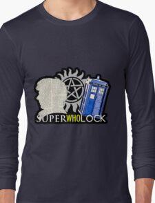 SuperWhoLock - Crossover MegaVerse Long Sleeve T-Shirt