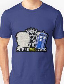 SuperWhoLock - Crossover MegaVerse Unisex T-Shirt