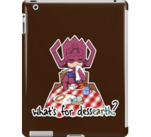 What's for dessEARTH? iPad Case/Skin