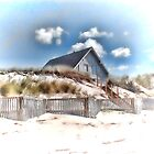 Cottage in the sand by DonaldCole