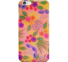 WILDFLOWER FANCY 2 - Cheerful Pink Lovely Floral Garden Pattern Girly Feminine Trendy Flowers iPhone Case/Skin