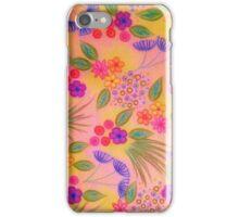 WILDFLOWER FANCY 2 - Cheerful Pink Lovely Floral Garden Pattern Girly Feminine Trendy Flowers iPhone Case/Skin