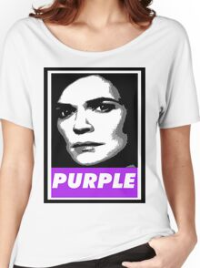 Marie's Wearing Purple Again Women's Relaxed Fit T-Shirt
