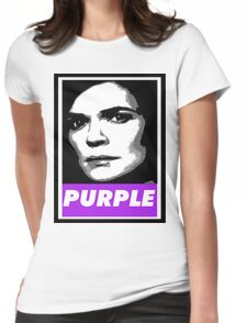 Marie's Wearing Purple Again Womens Fitted T-Shirt
