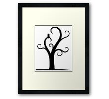 Owl In A Tree  Framed Print