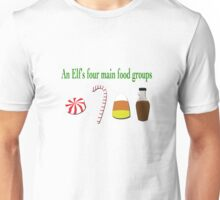 Four Main Food Groups  Unisex T-Shirt