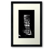 Dark Window Framed Print