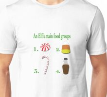 The four main food groups Unisex T-Shirt