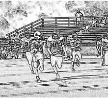 092012 048 0 pencil sketch football by crescenti