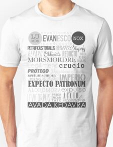 Harry Potter Spells Unisex T-Shirt