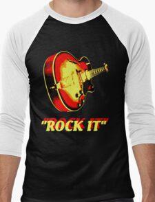 rock t-shirt Men's Baseball ¾ T-Shirt