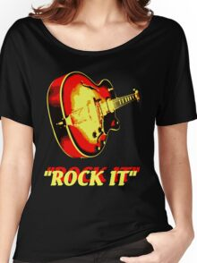 rock t-shirt Women's Relaxed Fit T-Shirt