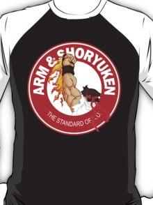 Arm & Shoryuken. The Standard of K.O. - Ryu T-Shirt