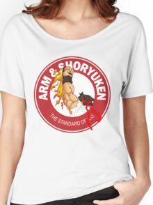 Arm & Shoryuken. The Standard of K.O. - Ryu Women's Relaxed Fit T-Shirt