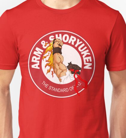 Arm & Shoryuken. The Standard of K.O. - Ryu Unisex T-Shirt