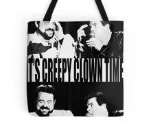 It's Creepy Clown Time Tote Bag