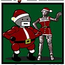 Christmas Robots by Rich Anderson