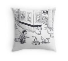 Big Hero 6- Heroes in Waiting Throw Pillow