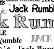 Jack Rumble Sticker