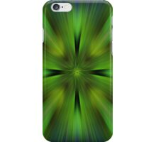 Glowing Green iPhone Case/Skin