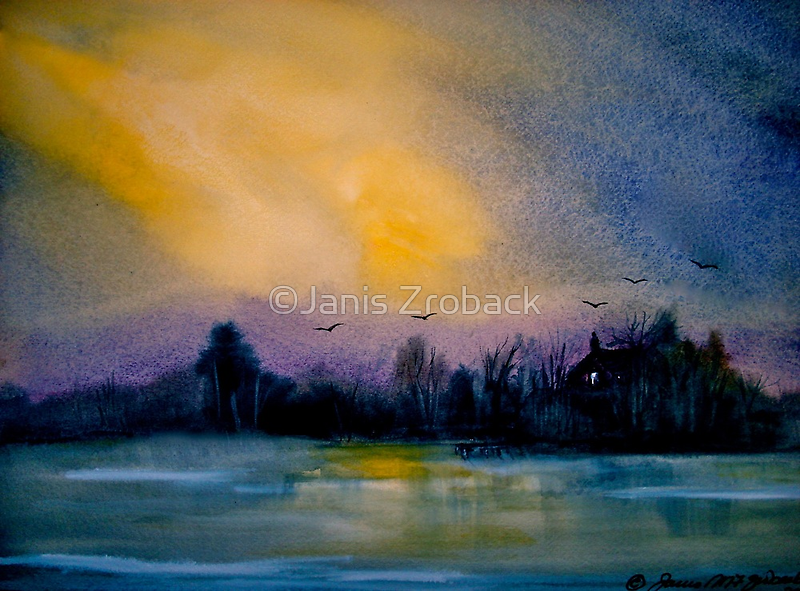 The Darkening Land... by ©Janis Zroback