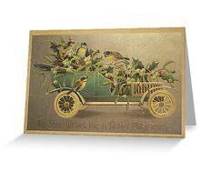 Vintage Christmas Card 6 Greeting Card