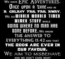 We do geek by SwansonA9