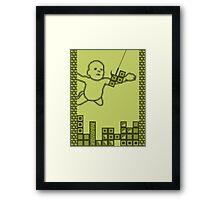 Nevermind the Tetris Framed Print