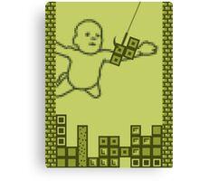 Nevermind the Tetris Canvas Print