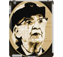Grace Hopper - COBOL  iPad Case/Skin