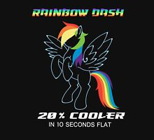 20% cooler Rainbow Dash Unisex T-Shirt