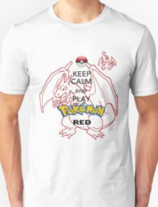 Keep calm and RED! T-Shirt