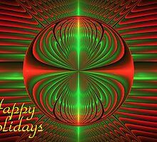 Christmas Ornament - Card by Sandy Keeton